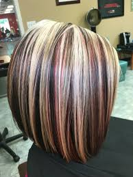 highlights blonde red and brown hair by victoria sylvis hair