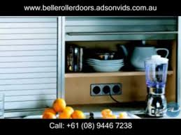 Unique Roller Doors And Storage By Adsonvids YouTube - Kitchen cabinet roller doors