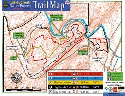 Alabama is it safe to travel to turkey images Trail map turkey creek nature preserve jpg