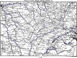 the south of france u2014east half paris to marseilles