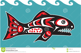 17 native american fish designs images free native american