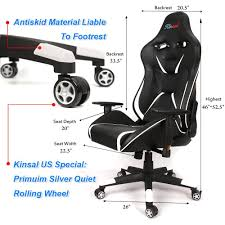 Gaming Chair Leather Kinsal Gaming Chairs U2013 Product Review U0026 Unboxing