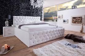 Schlafzimmer Komplett 160x200 Bett Mit Strasssteinen Nett Polsterbett Dave 140x200 Schwarz