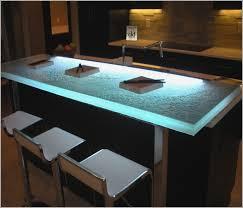 modern kitchen countertops backlit glass kitchen countertops bensheppard net
