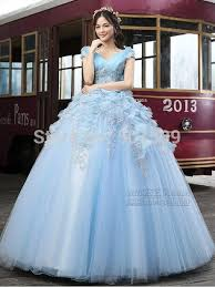robe mariã e princesse aliexpress buy 100 real light blue flowrers gown