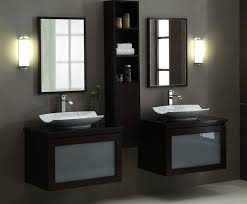 Modern Vanities For Small Bathrooms Modern 60 Inch Modular Bathroom Vanity Set Wall Mounted Throughout
