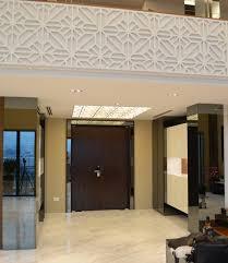 foyer area tanjong rhu penthouse double storey modern oriental designer style