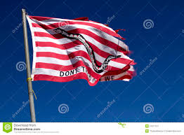Flag Don T Tread On Me Flag Don U0027t Tread On Me Stock Image Image Of Pole Sign 21671137