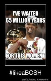 Chris Bosh Dinosaur Meme - haha i laughed more than was necessary again i am obsessed with