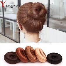 cool hair donut diy pure hairpiece hair bun coil updo maker former twist tool hair