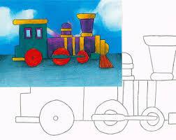 paper train activity etsy