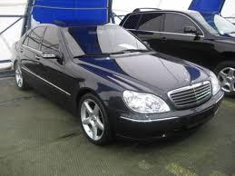 2001 Benz 2001 Mercedes Benz S Class Pictures