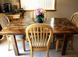 Reclaimed Dining Room Table Building A Reclaimed Wood Table Centsational Style