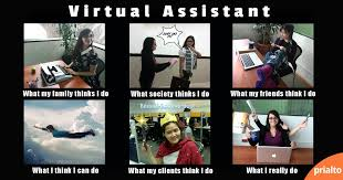 Meme Manager - funny meme about virtual assistants what people think i do