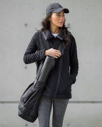 moto jacket lululemon moto jacket black lulu fanatics