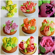 cupcake flowers baking cupcake wedding pastry russian flower nozzles 9pcs