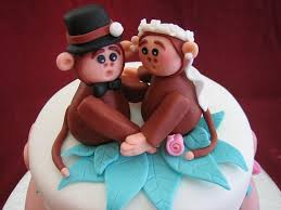 monkey cake topper monkey cakes and cupcakes
