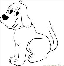 dog coloring pages online clifford the big red dog pictures to color coloring pages