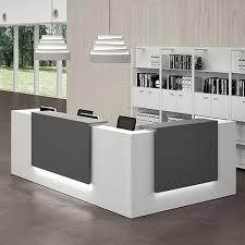 L Reception Desk Z2 Italian Contemporary Modular Reception Desk