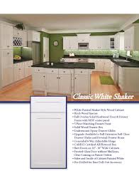 white shaker cabinets appealing white shaker kitchen cabinets