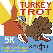 start your thanksgiving with the turkey trot community