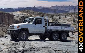 land cruiser 70 pickup toyota land cruiser 6x6 spectacular dubai oman part 1 youtube