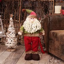 online shop personalize large retractable christmas santa doll