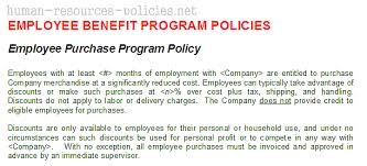 sample human resources policies sample procedures for small