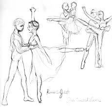 ballet sketches 2 by hbanana7 on deviantart