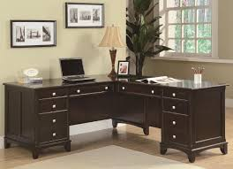 L Shaped Desk For Home Office Coaster Garson L Shaped Desk With 8 Drawers Coaster Furniture