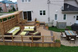 Deck Patio Designs Two Tier Decks Design Ideas Pictures Remodel And Decor