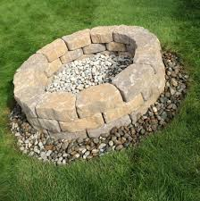 Firepit Blocks Pits Luxury Diy Pit 65 For Surrounding Blocks And