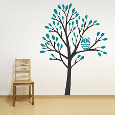 Owl Nursery Wall Decals by Owl In A Tree Wall Decal