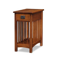 Mission Style Nightstand Mission Style Red Oak Bedroom Furniture Including Leick Furniture