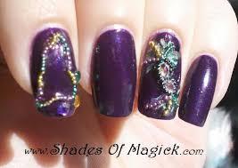 mardi gras nail mardi gras shades of magick