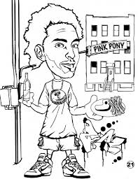 graffiti coloring pages party zone coloringstar