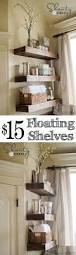 easy diy floating shelves shelves house and room