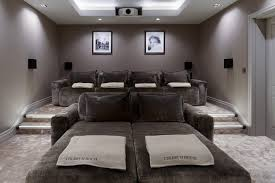 Custom Home Theater Seating Luxury Home Theatre With Some Rather Special Home Cinema Seating