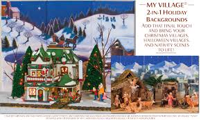 my village backgrounds bring your christmas village halloween