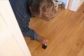 Repair Wood Floor How To Repair A Wood Floor Finish Diy Projects