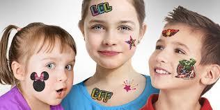 temporary tattoos for boys u0026 girls party city