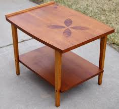modern wood end table vintage lane rosewood inlay end table mid century modern 939 05