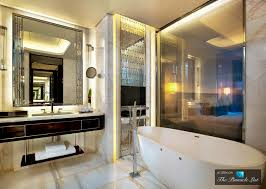 Luxury Bathroom Designs by St Regis Luxury Hotel Shenzhen China Deluxe Bathroom