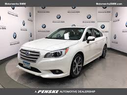 subaru sedan legacy 2015 used subaru legacy 4dr sedan 2 5i limited at motorwerks bmw
