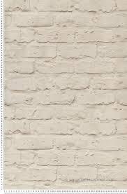 Tapisserie Cuisine 4 Murs by Papier Peint Mur En Briques Blanche Papier Peint Authentic De