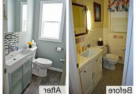 bathroom remodel on a budget ideas white toilet on gray tile floor