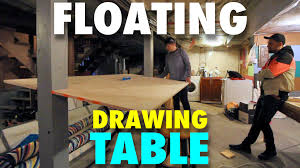 Drafting Table Wiki Building And Drawing The Floating Drawing Table Mv60