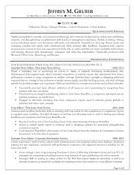 best solutions of sample copy editor resume for your letter
