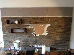 steinwand im wohnzimmer anleitung 2 wohnwand selber bauen anleitung rheumri
