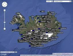 plotting iceland u2013 with the gps visualizer u0026 volcanic riddles